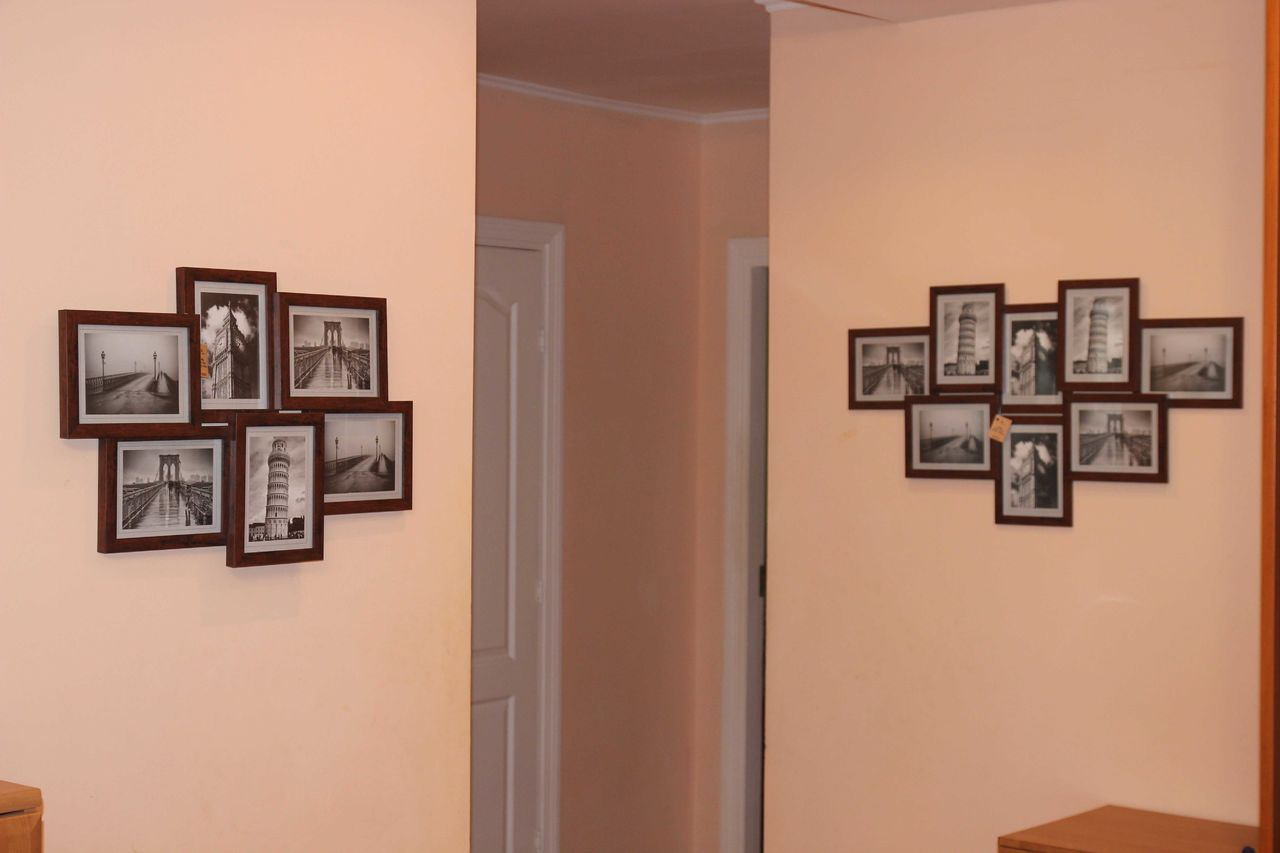 Фоторамки на стену своими руками фото